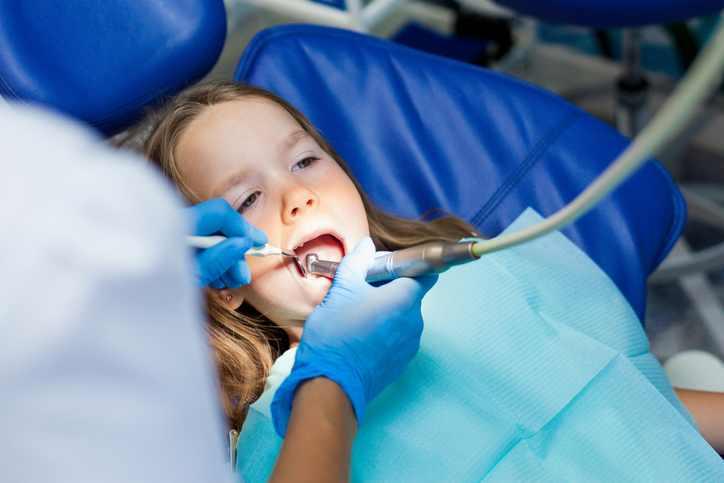 Próchnica mlecznych zębów